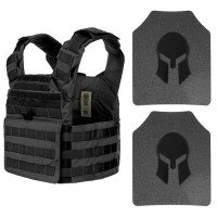 SPARTAN AR500 OMEGA™ BODY ARMOR AND WOLF BITE TACTICAL® HELIX CARRIER PACKAGE